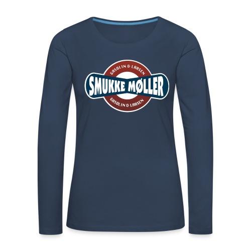 smlogo - Dame premium T-shirt med lange ærmer
