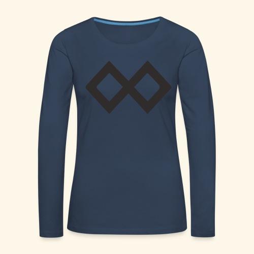 TenX Logo - Frauen Premium Langarmshirt