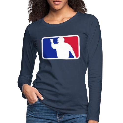 Baseball Umpire Logo - Women's Premium Longsleeve Shirt