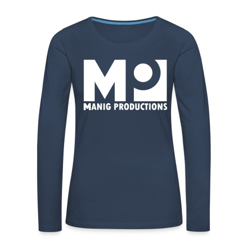 ManigProductions White Transparent png - Women's Premium Longsleeve Shirt
