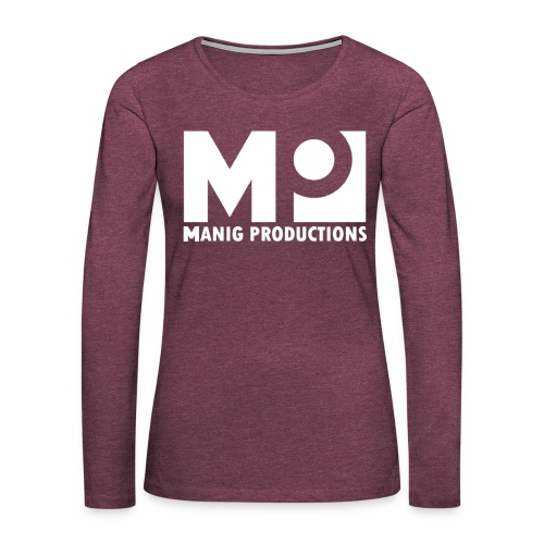ManigProductions White Transparent png - Women's Premium Longsleeve Shirt