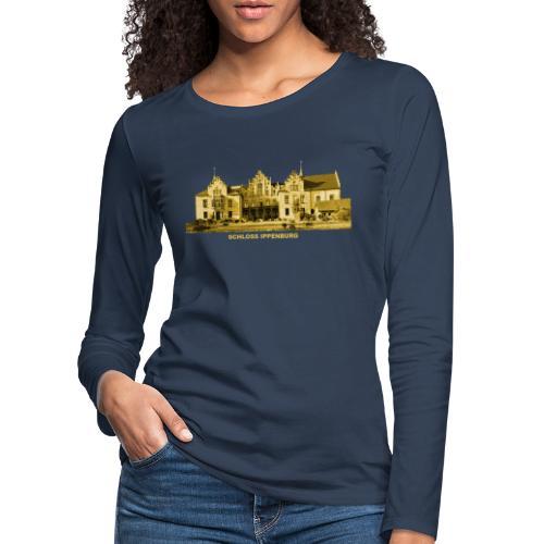 Ippenburg Schloss Adelswohnsitz Bad Essen - Frauen Premium Langarmshirt