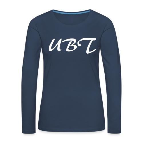 UBW - Långärmad premium-T-shirt dam