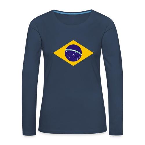 NOT BRAZIL - NORN IRON - Women's Premium Longsleeve Shirt