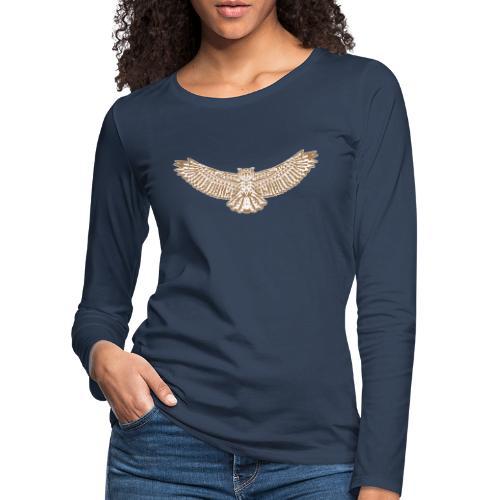 uhu - Frauen Premium Langarmshirt