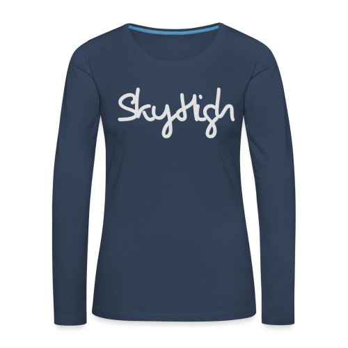 SkyHigh - Bella Women's Sweater - Light Gray - Women's Premium Longsleeve Shirt