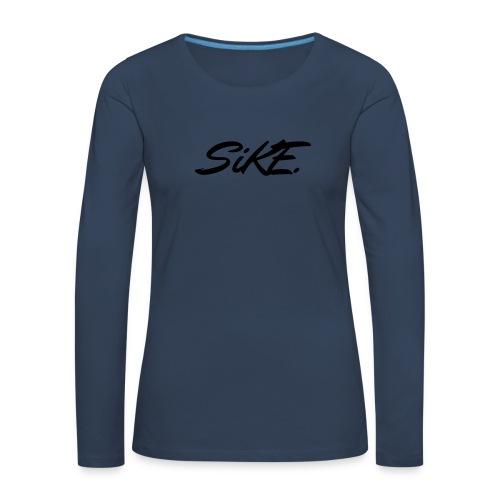 SIKE - T-shirt manches longues Premium Femme