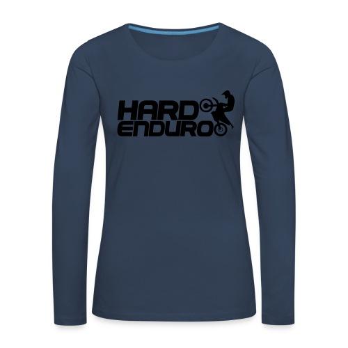 Hard Enduro Biker - Frauen Premium Langarmshirt