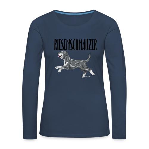 Riesenschnauzer 01 - Women's Premium Longsleeve Shirt