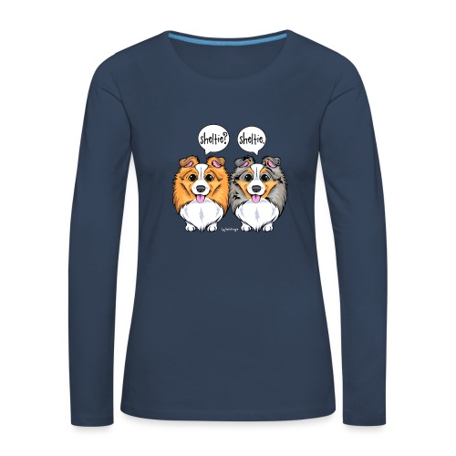 Sheltie Sheltie 3 - Women's Premium Longsleeve Shirt