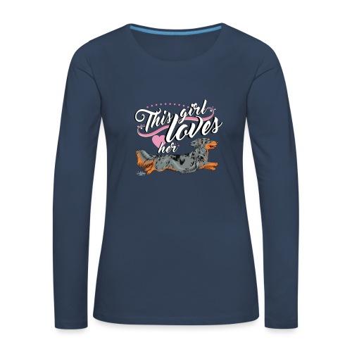 pitkisgirl - Women's Premium Longsleeve Shirt