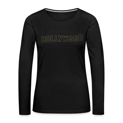 Hollyweed shirt - T-shirt manches longues Premium Femme