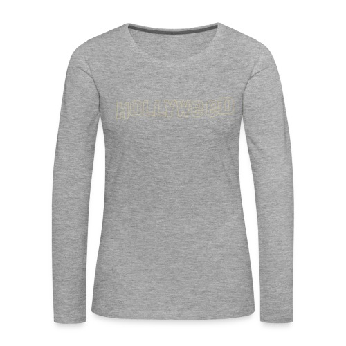 Hollyweed shirt - T-shirt manches longues Premium Femme