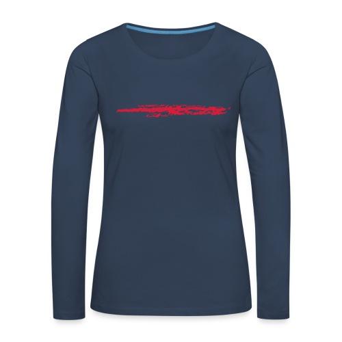 Linie_02 - Frauen Premium Langarmshirt