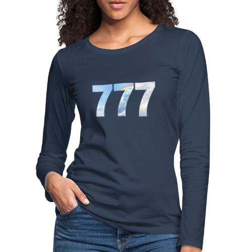 777 un nombre de chance et spirituel. - T-shirt manches longues Premium Femme