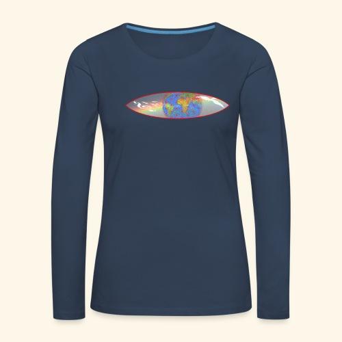 Heal the World - Frauen Premium Langarmshirt