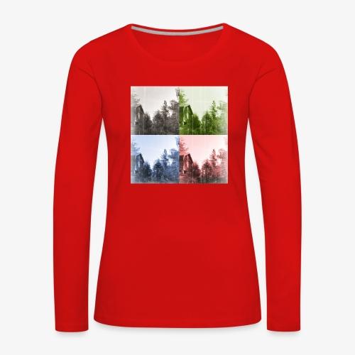 Torppa - Naisten premium pitkähihainen t-paita