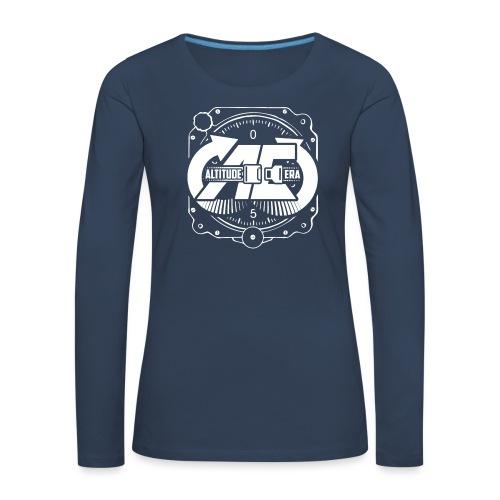 Altitude Era Altimeter Logo - Women's Premium Longsleeve Shirt