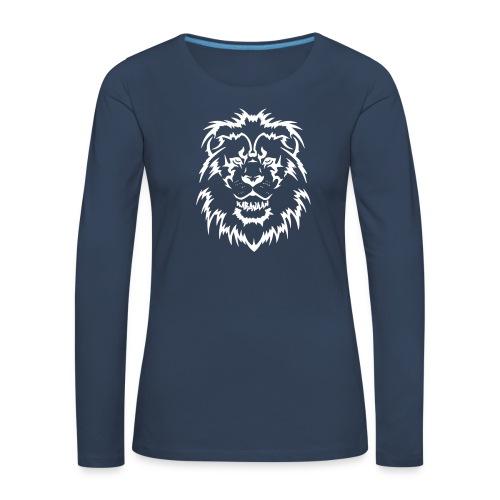Karavaan LION - Vrouwen Premium shirt met lange mouwen