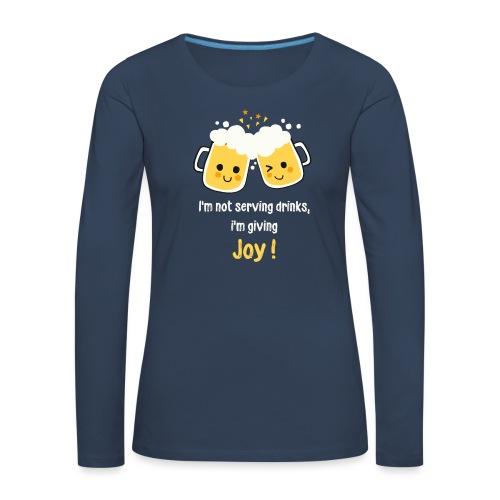 Giving Joy - Women's Premium Longsleeve Shirt
