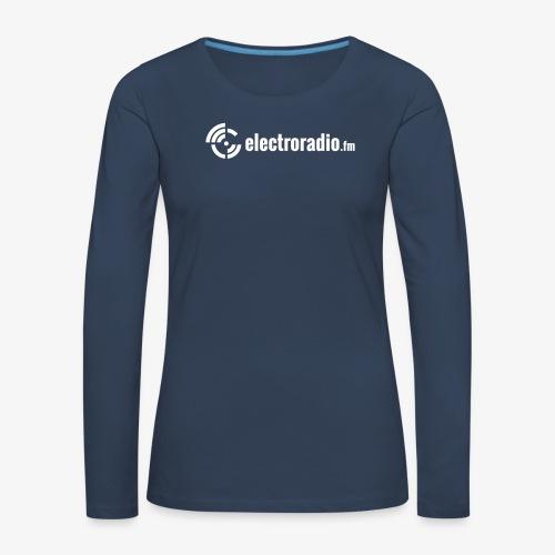 electroradio.fm - Frauen Premium Langarmshirt