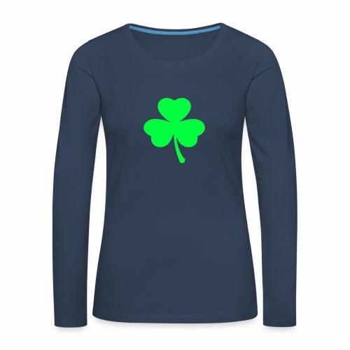 suerte - Camiseta de manga larga premium mujer