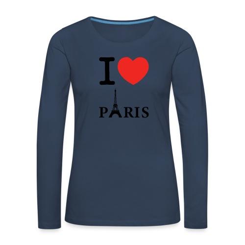 321AF5B9 409E 4F20 A409 87B0991F1FF5 - T-shirt manches longues Premium Femme