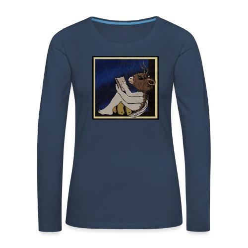 Marilyn's Diary (rectangle) - Women's Premium Longsleeve Shirt