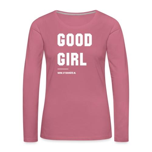 TANK TOP GOOD GIRL - Vrouwen Premium shirt met lange mouwen