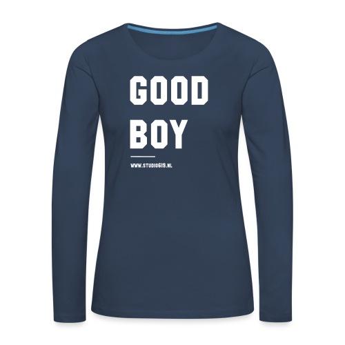 TANK TOP GOOD BOY - Vrouwen Premium shirt met lange mouwen
