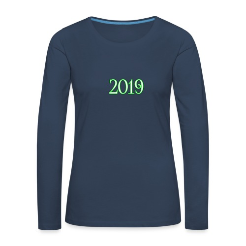2019 - Women's Premium Longsleeve Shirt