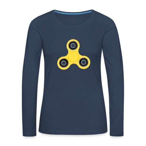 Hand Spinner - T-shirt manches longues Premium Femme