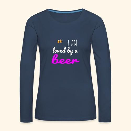 Birra Beer - Maglietta Premium a manica lunga da donna