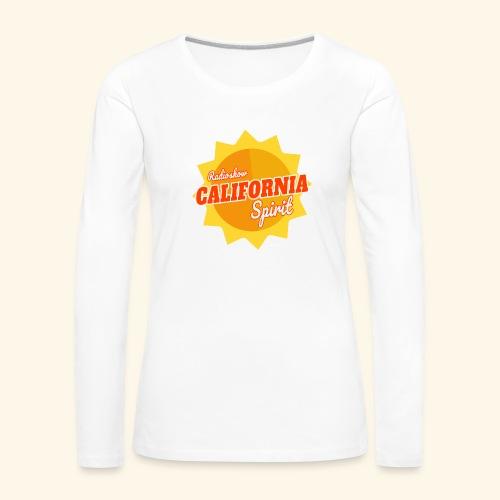 California Spirit Radioshow - T-shirt manches longues Premium Femme