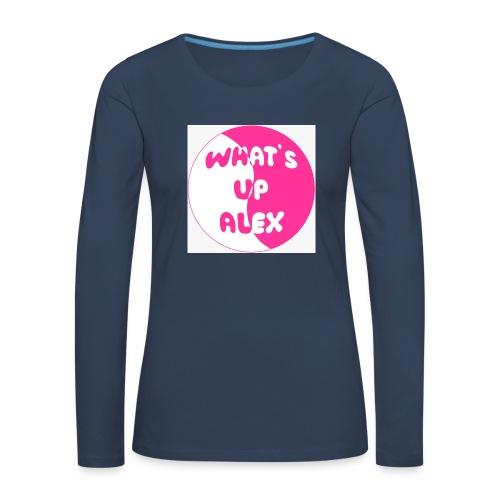 45F8EAAD 36CB 40CD 91B7 2698E1179F96 - Women's Premium Longsleeve Shirt