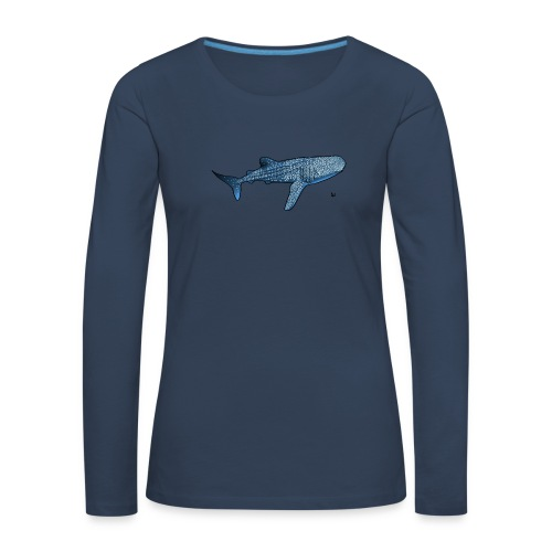 Whale shark - T-shirt manches longues Premium Femme