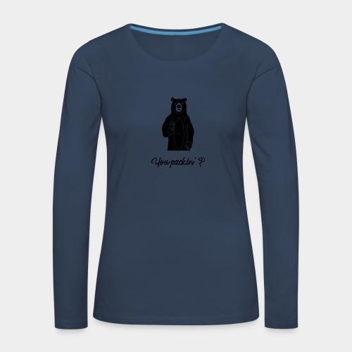 Beware the Bear - Women's Premium Longsleeve Shirt