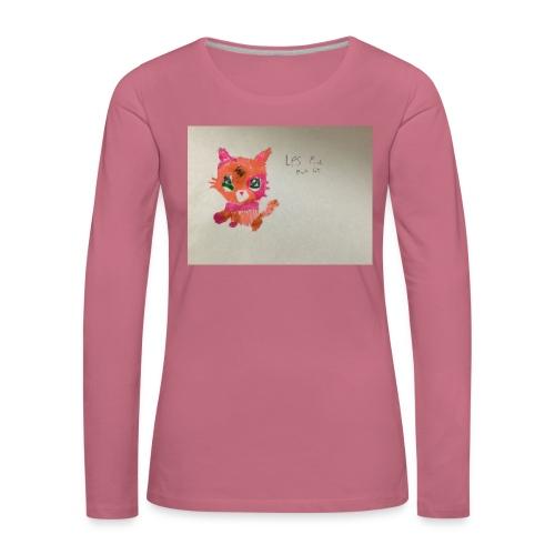 Little pet shop fox cat - Women's Premium Longsleeve Shirt