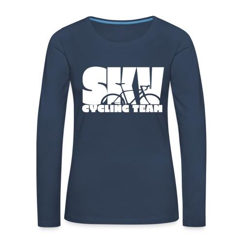 SKV CyclingTeam w - Frauen Premium Langarmshirt