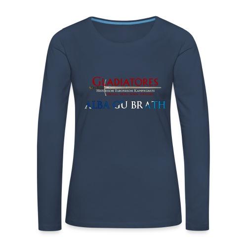 ALBAGUBRATH - Frauen Premium Langarmshirt