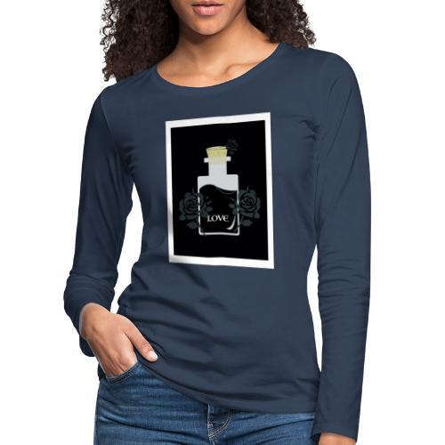 Love Poison - Långärmad premium-T-shirt dam