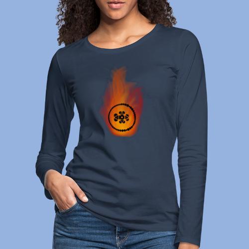 Smell like teen spirit Fire - T-shirt manches longues Premium Femme