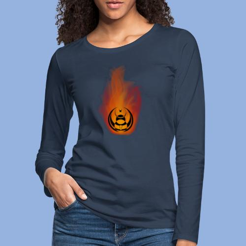 Seven nation army Fire - T-shirt manches longues Premium Femme