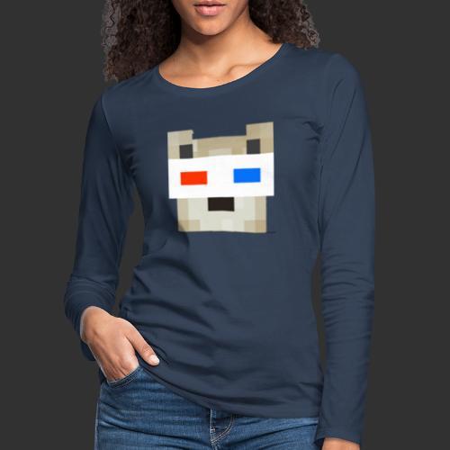 JRG logo Merch. - Vrouwen Premium shirt met lange mouwen