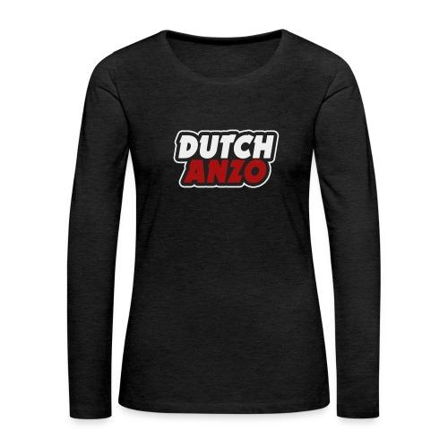 dutchanzo - Vrouwen Premium shirt met lange mouwen