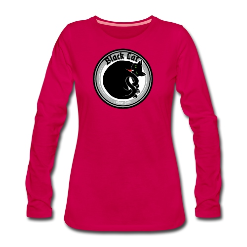 Black Cat - Frauen Premium Langarmshirt