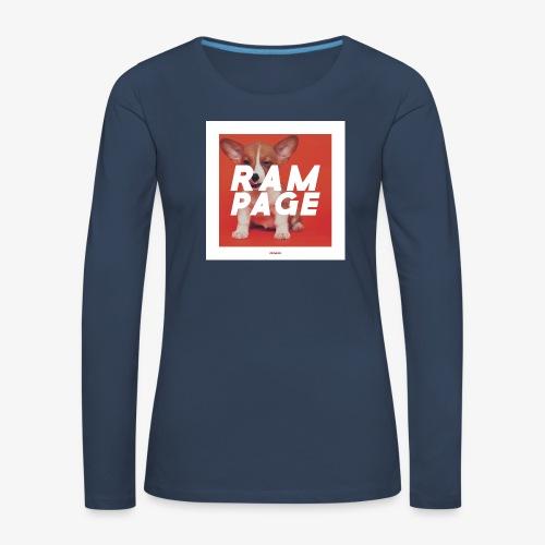 RAMPAGE #01 - Frauen Premium Langarmshirt