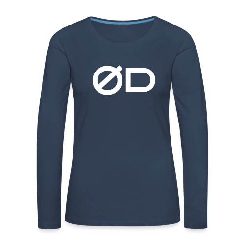 Seaquake QU Classic T-Shirt - Maglietta Premium a manica lunga da donna