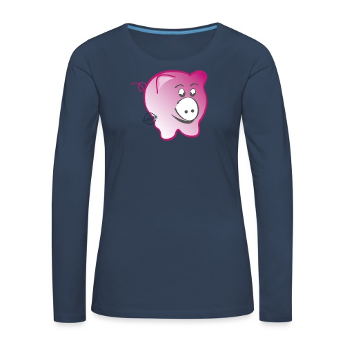 Pig - Symbols of Happiness - Women's Premium Longsleeve Shirt