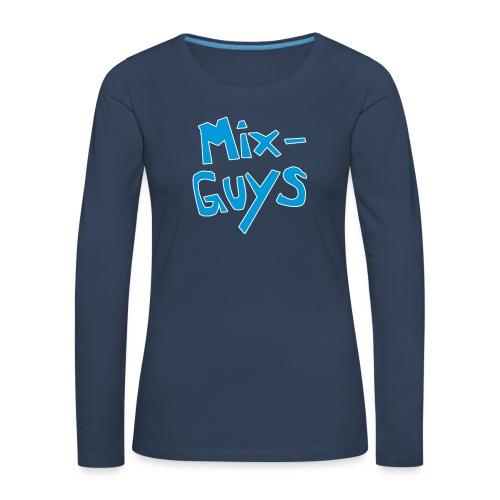 MixGuys - Premium langermet T-skjorte for kvinner